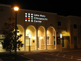 Lake Mary Chiropractic Center Conveniently located on Lake Mary Blvd.